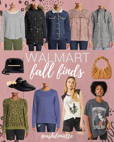 Walmart fall finds - jackets, sweaters, graphic tees + more!   #LTKshoecrush #LTKunder50 #LTKstyletip