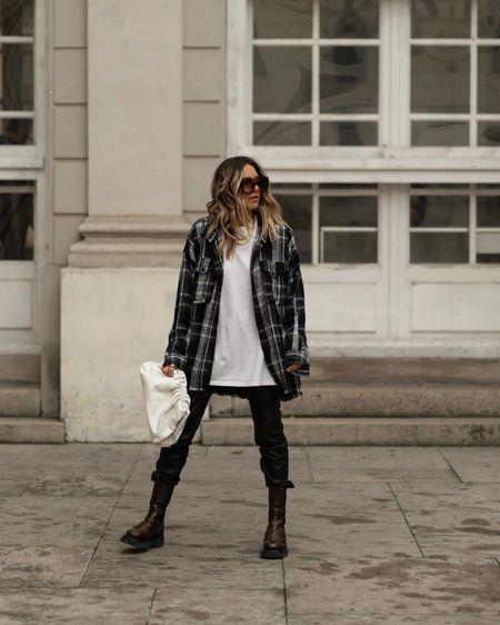 http://liketk.it/2JPpf #liketkit @liketoknow.it Oversize Look, Leather Pants, Bottega Veneta