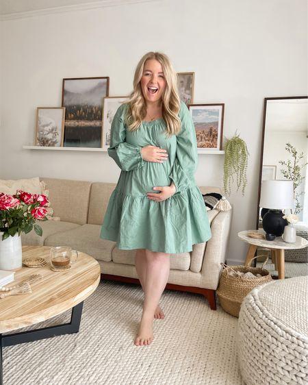 My dress (size small for reference). Oversized fit, flowy. http://liketk.it/3ab7X #liketkit @liketoknow.it