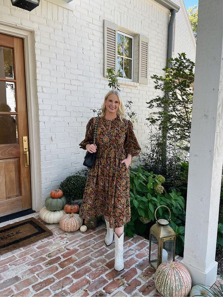 Love this dress I picked up last week! The perfect fall print, but lightweight and casual for everyday wear. PS: Shopbop has a sale going on! We rounded up our favorite sale picks on the LTK app, so follow me there to shop! Things are selling out fast 🙈   #LTKstyletip