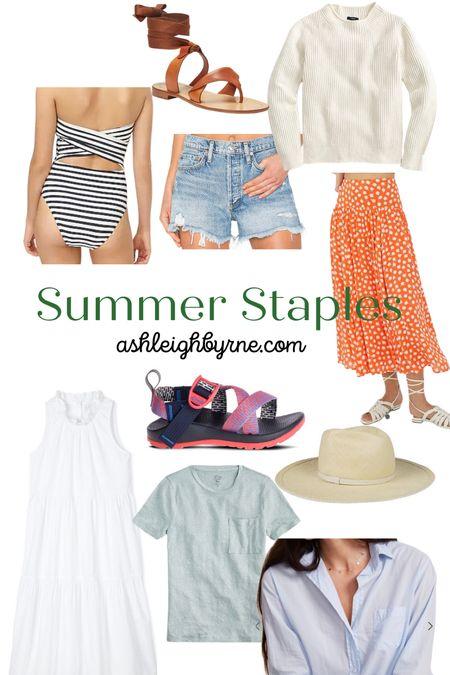 My summer staples.   #LTKstyletip #LTKunder50 #LTKSeasonal