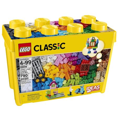 The perfect entry classic lego set, that comes with storage and a book of entertaining things to build 🎉 http://liketk.it/37Tnm #liketkit @liketoknow.it #LTKkids #legos #kids