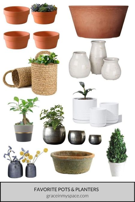 Have fun this summer and decorate your house with flowers and plants! Here are some of my favorite pots that I found on Amazon to help get you started.   http://liketk.it/3iqab #liketkit @liketoknow.it