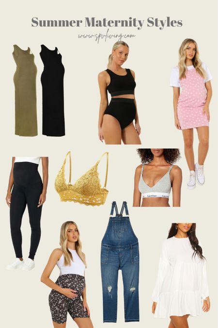 Summer Maternity Style that's comfy and stylish.   #LTKbump #LTKbaby #LTKstyletip