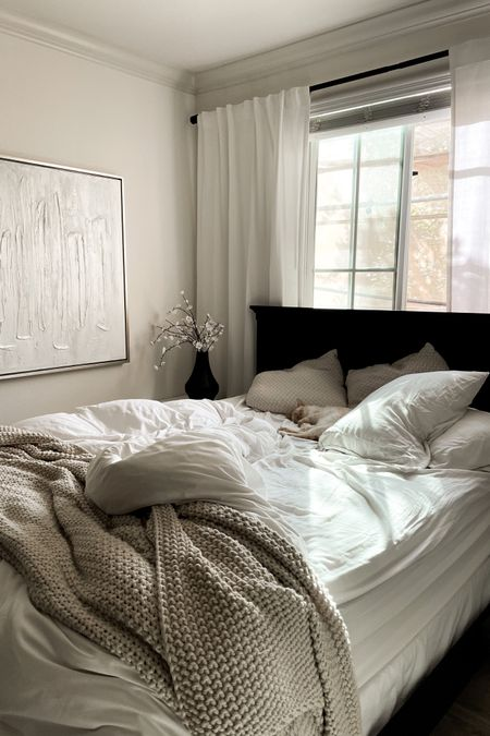 Serene and Cozy Bed Room Home Decor http://liketk.it/3k0Ln #liketkit @liketoknow.it @liketoknow.it.home #LTKhome