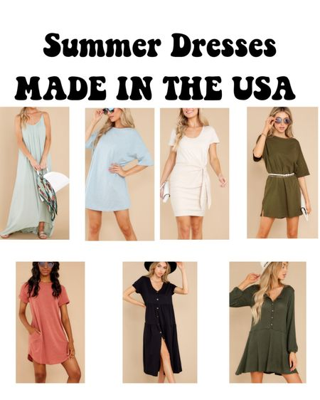 Summer dresses #madeintheusa made in the USA http://liketk.it/3hO8E #liketkit @liketoknow.it #LTKunder50 #LTKstyletip #LTKwedding