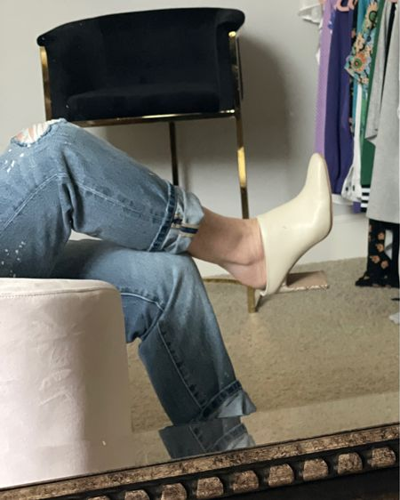 Boots. White boots are everywhere and will certainly walk us right into spring. Try putting your winter white with the IT jean of the season.  This 100% Boyfriend should be 100% yours💕 Order 👉🏻   bit.ly/100boyfriend   http://liketk.it/35Sih #liketkit @liketoknow.it #LTKshoecrush #LTKstyletip #LTKNewYear