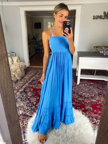 Maxi dress size XS  flowy dress, vacation, Hawaii, honeymoon  #LTKSeasonal #LTKtravel #LTKwedding