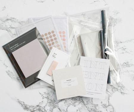 My 2021 Planner Setup on my Louis Vuitton MM agenda   #LTKVDay #StayHomeWithLTK #LTKhome