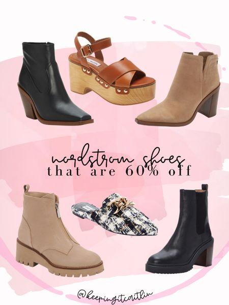 Boots, mules, and a chunky sandal from Nordstrom that are 60% off    #LTKshoecrush #LTKsalealert #LTKunder100
