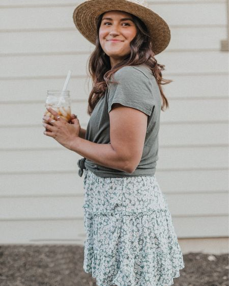 I'll be over here still living in my summer outfits and drinking a big ol' glass of sun brewed tea!😜 http://liketk.it/2EB6i #liketkit @liketoknow.it