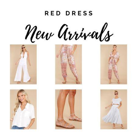 Sets and dresses from Red Dress  #LTKstyletip #LTKshoecrush #LTKunder50