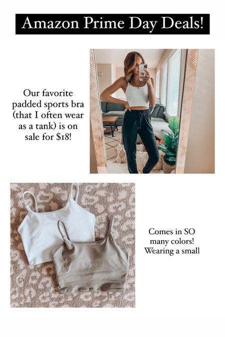 Amazon Prime Day Deals✨ the BEST padded sports bras on major sale! http://liketk.it/3i4IE @liketoknow.it #liketkit #LTKstyletip #LTKsalealert