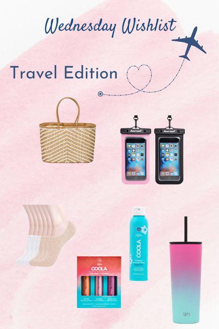 Wednesday Wishlist - Travel Edition    http://liketk.it/3hdFi @liketoknow.it #liketkit #LTKtravel #LTKunder50