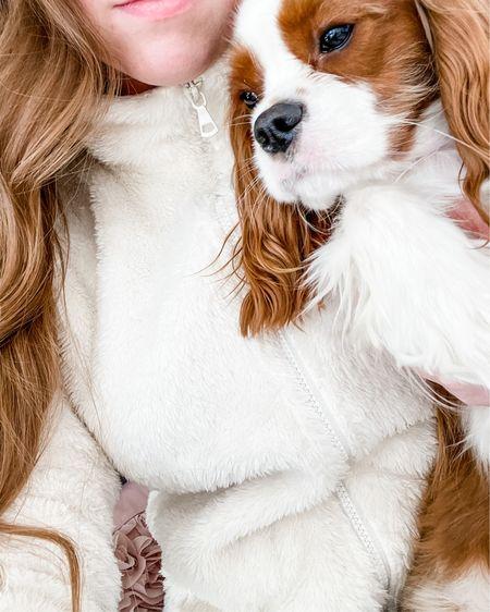 My Uniqlo sweater is on sale (10$ off!)  cosy sweater, loungewear, dog mom, athleisure, sherpa, fleece    #LTKsalealert #StayHomeWithLTK #LTKstyletip #liketkit #LTKdog @liketoknow.it http://liketk.it/3856r