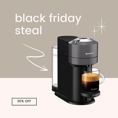 Nespresso Vetruo on sale for early Black Friday - 30% off the regular price! #christmas #ltkchristmas #blackfriday  #LTKhome #LTKsalealert #StayHomeWithLTK