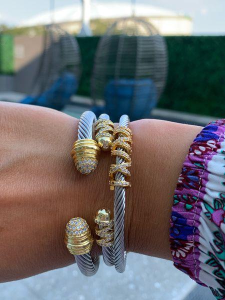 Great bracelets for summer!      #bracelet #cuff #cablebraclets #cablecuff #cablecuffs #sliverbracelets #silvercuffs #silvercuff #styledcollection #styledcollectionbangle #styledcollectionbracelet #styledcollectioncuff #goldbracelets #bracelets #springaccessories #springbracelets #cuffbracelet   #bracelet #styledcollection #styledcollectionbangle #styledcollectionbracelet #styledcollectioncuff #goldbracelets #goldbracelet #bracelets #springaccessories #springbracelets #cuffbracelet #pulltiebracelet #pulltiebracelets #cablebangle #beadedbracelets #beadedbracelet                                                                                                                                                        #LTKsalealert #LTKunder100 #LTKunder50
