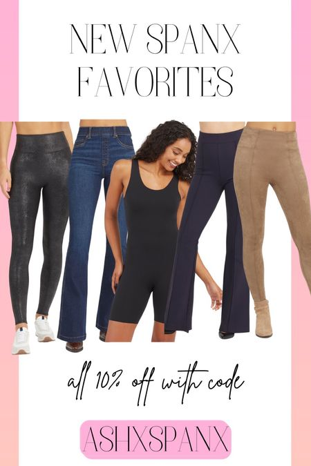 New SPANX! Use code ASHXSPANX for 10% off!