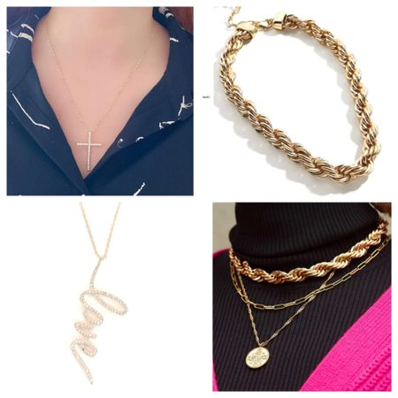 All necklaces are at least 30% off for the annual Like to know It Event!   #LTKDay #LTKunder50 #LTKsalealert