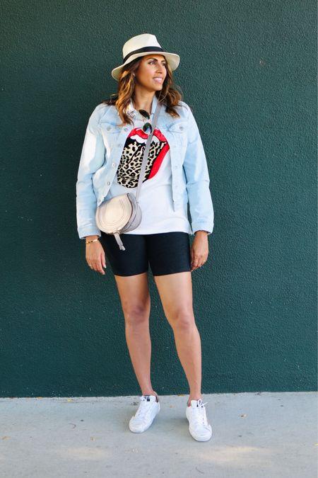 Biker short chic in LA http://liketk.it/2Tzgr #liketkit @liketoknow.it