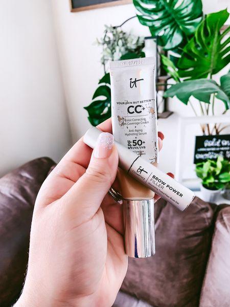 My fave CC cream and eye brow gel #LTKsale  #LTKsalealert #LTKbeauty