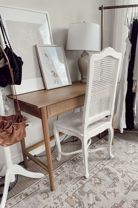 The beginning of my new work-from-home nook! Also utilizing this nook as my blogging work space, complete with the cutest clothing rack and hat stand. Time to get busy! (Chair is a vintage find!) http://liketk.it/3j5nQ #liketkit @liketoknow.it