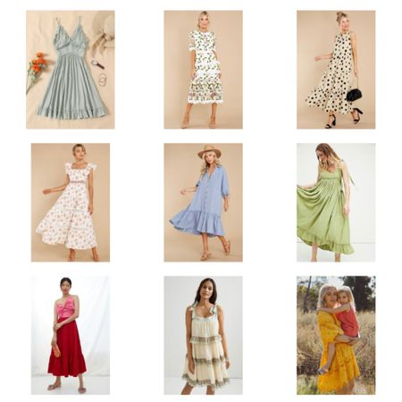 What to wear to a Bridal shower….  I've got you covered for every type of Bridal shower from Garden party, brunch to evening dinner…. Perfect and affordable! ( I want everyone of these dresses)  .  You can instantly shop my looks by following me on the LIKEtoKNOW.it shopping app Screenshot this pic to get shoppable product details with the LIKEtoKNOW.it shopping app http://liketk.it/3h01y #liketkit @liketoknow.it #LTKwedding #LTKstyletip