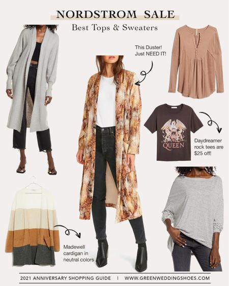 Nordstrom Anniversary Sale 2021 best of tops and sweaters    #LTKsalealert http://liketk.it/3jKq0 #liketkit @liketoknow.it