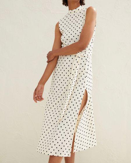 Obsessed with this high neck polka dot dress! http://liketk.it/3k0fx #liketkit @liketoknow.it #LTKunder50