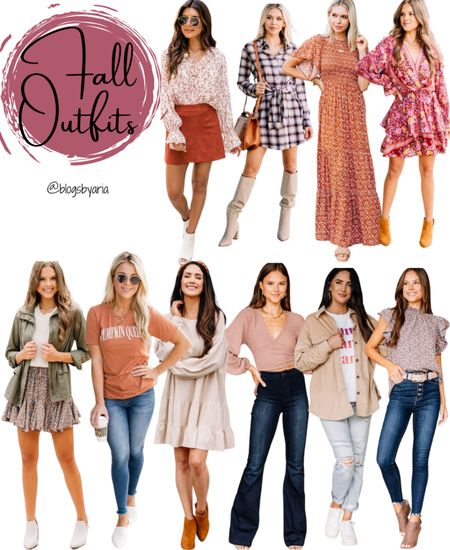 Fall fashion ideas fall fashion inspiration fall outfits to wear this year fall dresses shackets fall jackets fall skirts fall tops fall style what to wear outfit ideas to try date night outfits mom friendly outfits   #LTKunder100 #LTKstyletip #LTKSeasonal