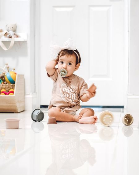 Love these stacking toys for babies! And the colors are the best! http://liketk.it/2VLol #liketkit @liketoknow.it #LTKunder50 #LTKbaby #LTKfamily