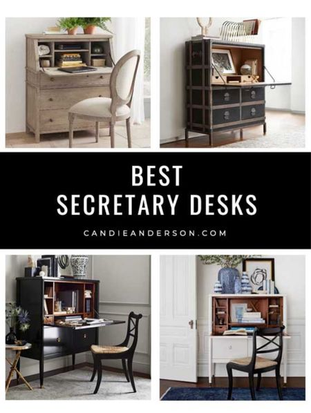 Best secretary desks! Will keep you organized and will look amazing in your living room, bedroom, dining room and more.   #LTKhome #LTKbacktoschool