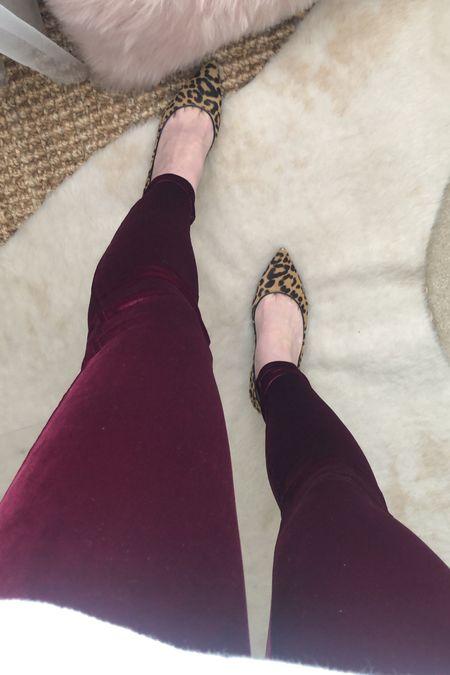 Spanx velvet leggings   #LTKstyletip