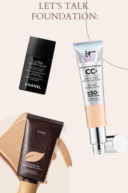 My favorite foundation!  Designer makeup  Full coverage Matte Dewey Tarte Chanel It Cosmetics   http://liketk.it/3bhvE #liketkit @liketoknow.it #LTKSpringSale #LTKbeauty #LTKsalealert @liketoknow.it.brasil @liketoknow.it.europe @liketoknow.it.family @liketoknow.it.home Shop your screenshot of this pic with the LIKEtoKNOW.it shopping app