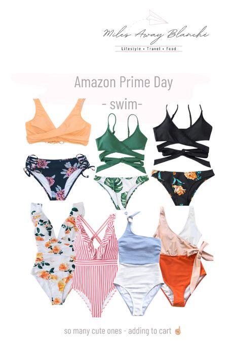 Amazon prime day - swim! sale on swimsuits on Amazon. sale ends tomorrow 💛 http://liketk.it/3i6GP #liketkit @liketoknow.it #LTKsalealert #LTKunder50 #LTKswim