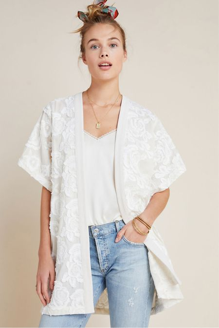 Bought this gorgeous kimono today and found out it was marked down even more....only paid $59. Online for $79.95. So pretty for summer. #LTKunder100 #LTKsalealert http://liketk.it/2QYDx #liketkit @liketoknow.it You can instantly shop my looks by following me on the LIKEtoKNOW.it shopping app
