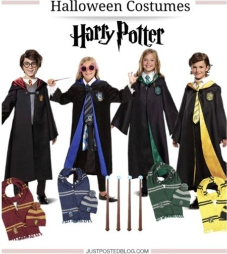 Harry Potter kids group costume #justpostedblog   Harry Potter  Halloween  Costume   #LTKSeasonal #LTKHoliday #LTKunder100