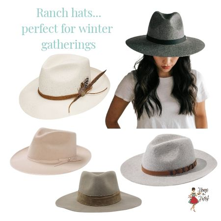 You'll be sure to bring style to an outdoor winter party with a ranch hat. http://liketk.it/340FA @liketoknow.it #liketkit #LTKranchhats #LTKMadewell Screenshot or 'like' this pic to shop the product details from the LIKEtoKNOW.it app, available now from the App Store!