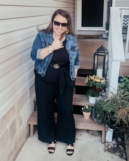 On Monday's we wear black... Yes his Loft jumpsuit is so comfortable and lightweight. The perfect look for a cool spring morning.   Check out the details for this whole look by using the link in my profile.   http://liketk.it/3dR5A #LTKstyletip #LTKunder50 #LTKworkwear #liketkit @liketoknow.it