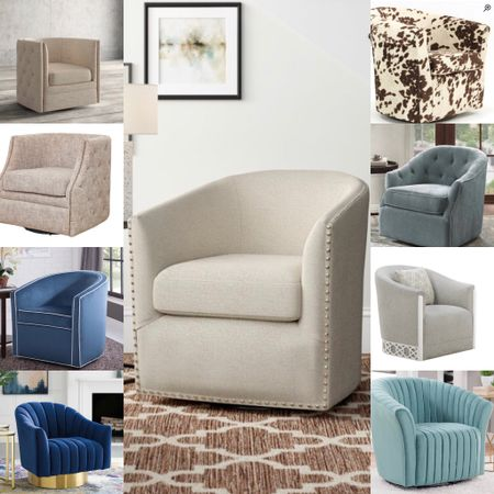 Sales—well-crafted swivel chairs.  #LTKsalealert #LTKhome