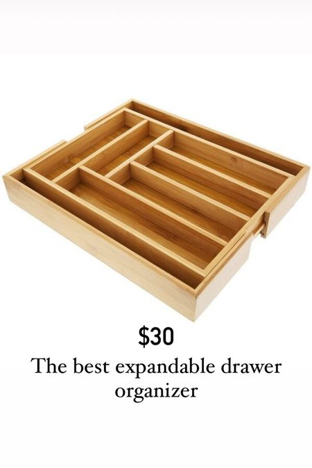 This kitchen drawer organizer is expandable and really durable!   #LTKunder50 #LTKhome #LTKDay