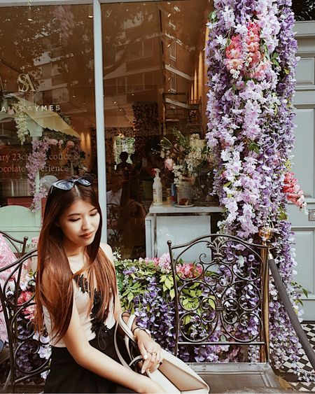 Hope everyone is having a great weekend! Finally visited the beautiful Saint Aymes cafe, which did not disappoint! My review of it is up on the blog, link in bio!🌸 carissalam.com💕  @liketoknow.it #liketkit http://liketk.it/2CcmC