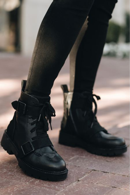 Ugg leather lug boots #fall  #LTKSeasonal