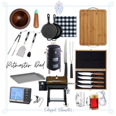 Grilling bbq cooking kitchen Father's Day gift ideas gift guide dad gifts for him, Walmart fathers day gift chef pitmaster   #LTKunder100 #LTKfamily #LTKmens