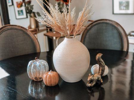 Dining table too decor ideas. Pumpkins   #LTKhome #LTKunder50 #LTKSeasonal