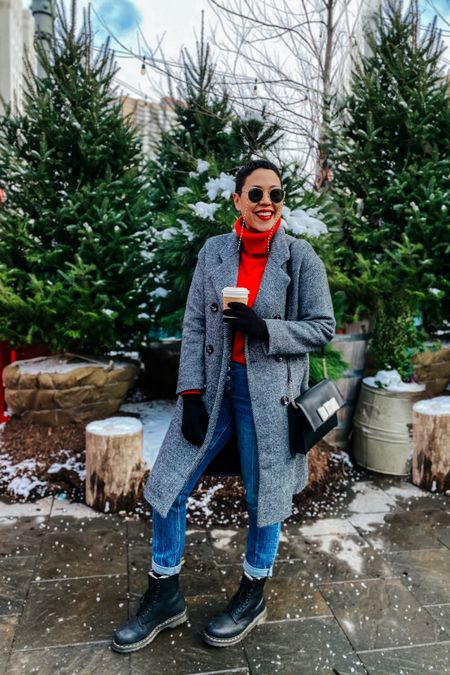Sweater weather Coat under 100 Weatherproof boots Snow outfit Winter outfit  http://liketk.it/34edA #liketkit @liketoknow.it