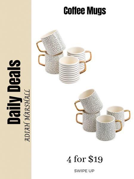 Cute coffee mugs  4 for $19  #LTKhome #LTKHoliday #LTKGiftGuide