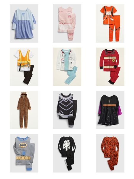 Kids' costumes don't have to be a one time wear! All of these adorable options are PAJAMAS!!! keep your kid cozy all season long as their favorite character!!!  #LTKkids #LTKHoliday #LTKbaby