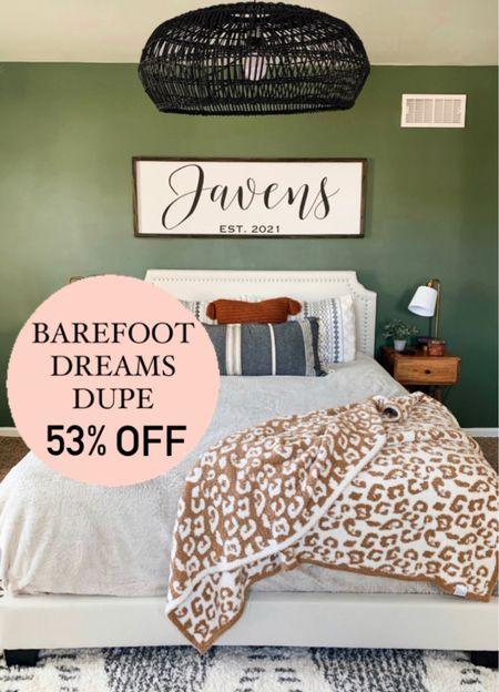 Barefoot dreams dupe Throw blanket Christmas gift idea  #barefootdreamsdupe #throwblanket #leopardblanket #officechair #blanket #giftideasforher #giftsforher   #LTKhome #LTKSale #LTKunder100