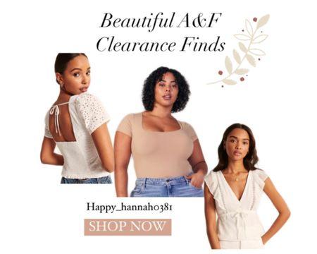 A&F Clearance Finds! #LTKsalealert #LTKunder50 http://liketk.it/3g2Fe #liketkit @liketoknow.it